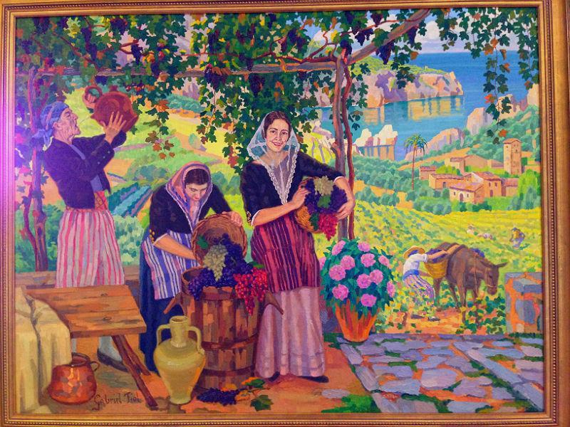 Bauernfrauen-Kloster-Valdemossa