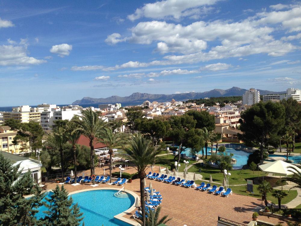 Grupotel Gran Vista Spa - Blick ueber Hotelanlage