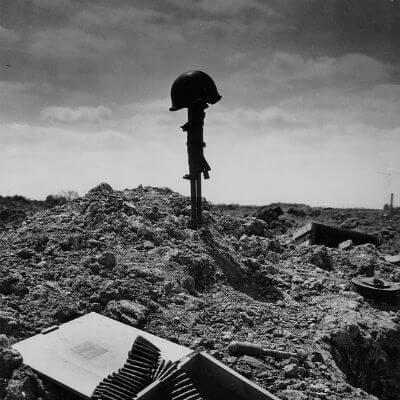 Soldat Grab Krieg